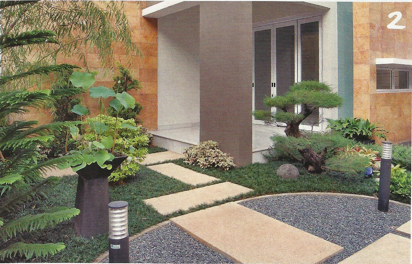 taman kolam minimalis belakang rumah url